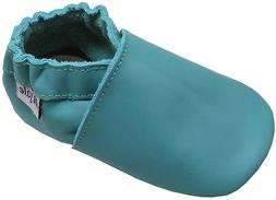 Mejale Baby Leather Shoes Infant Toddler Soft Sole Moccasins
