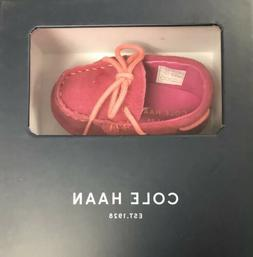 Cole Haan Grant Driver Electric Pink Driving Moccasins infan