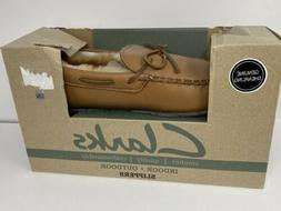 Clarks JHM1698 Wool / Authentic Leather Indoor + Outdoor Moc