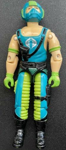 G.I. Joe Copperhead Water Moccasin Driver 1984 In Very Good