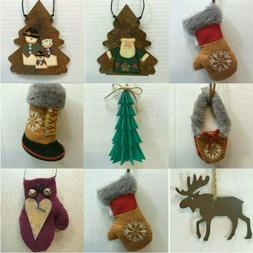 L85 LODGE ORNAMENTS each priced separately MANY CHOICES Rust