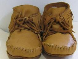 LEATHER ELKSKIN MOCCASIN NATIVE  MOUNTAIN 10 moccasins
