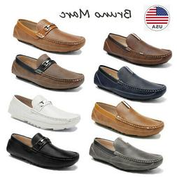 Bruno Marc Men's Driving Moccasins Loafers Classic Slip on L