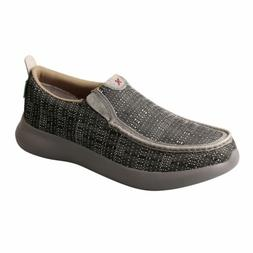 Twisted X Men's Gray Slip on Eco TWX Shoes