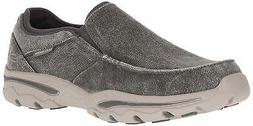 Skechers Men's Relaxed Fit-Creston-Moseco Moccasin, Charcoal