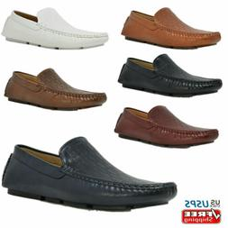 Men's Slip On Penny Loafers Moccasins Shoes Boat Shoes Drivi