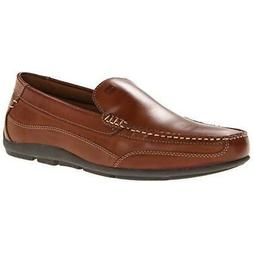 Tommy Hilfiger Mens Dathan Brown Driving Moccasins Shoes 9.5