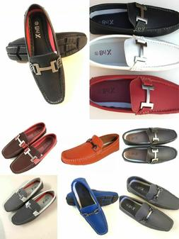 Mens Driving  Casual Shoes Moccasins Faux Leather Loafers Sl