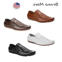 Bruno Marc Mens Driving Moccasins Boat Shoes Slippers Slip O