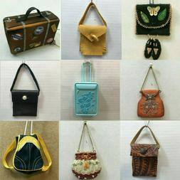P01 PURSE ORNAMENTS each priced separately MANY CHOICES Lugg