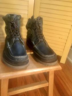 RUSSELL MOCCASINS SAFARI PH BOOTS -MENS 10.5, EXCELLENT COND