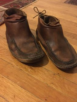 Vintage Carl Dyer Moccasins Handmade in Indiana Rendezvous B
