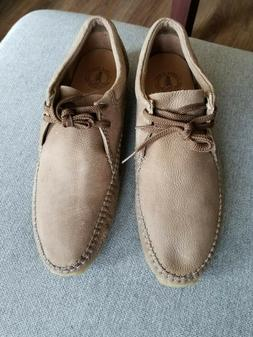 Clark's Wallabees Weaver Leather Moccasin Style Size 12m