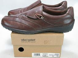 WALKING CRADLES Women's CASSIE Brown Leather Loafers US 8.5