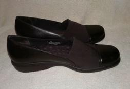 Walking Cradles Women's Shoes Slip On Fabric/Leather Wedged